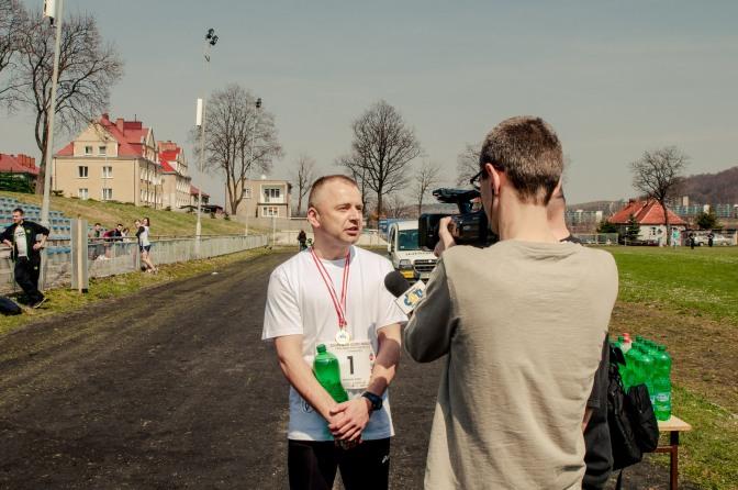 Relacja z biegu – TVKG.